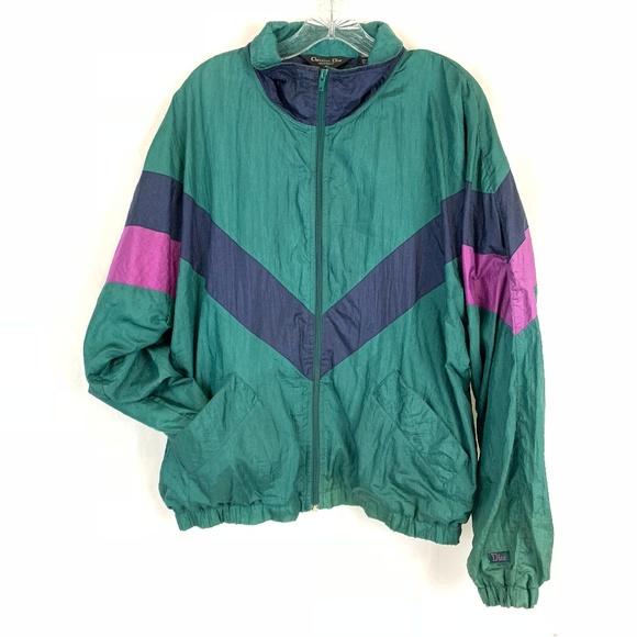 0d2951da5772 Dior Other - Vtg Christian Dior Track Windbreaker Jacket